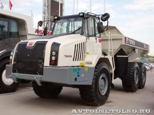 Шарнирно-сочлененный самосвал Terex TA 300R на выставке MiningWorld Russia 2013 - 1