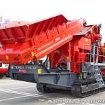 Конусная дробилка на гусеничном ходу Terex Finlay C-1540 на выставке MiningWorld Russia 2013 - 8