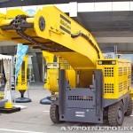 Электрический погрузчик непрерывного действия Atlas Copco Haggloader 7HR-B на выставке MiningWorld Russia 2013 - 4