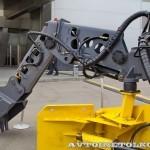 Электрический погрузчик непрерывного действия Atlas Copco Haggloader 7HR-B на выставке MiningWorld Russia 2013 - 8