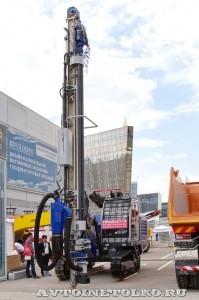 Cамоходная установка для бурения коренных пород TM-Bohrtechnik TM-255T Ru на выставке MiningWorld Russia 2013 - 9