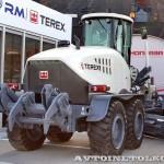 Автогрейдер Terex TG 180 на выставке MiningWorld Russia 2013 - 9