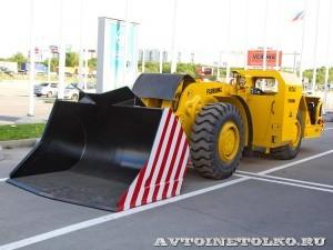 Шахтная погрузочно-доставочная машина Fadroma LK-2AC на выставке MiningWorld Russia 2013 - 9