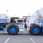Шахтная погрузочно-доставочная машина GHH LF-11H на выставке MiningWorld Russia 2013 - 8
