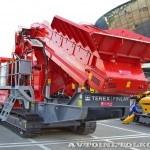 Конусная дробилка на гусеничном ходу Terex Finlay C-1540 на выставке MiningWorld Russia 2013 - 9
