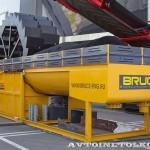 Установка промывки иобезвоживания песка Bruce BWD-150 на выставке MiningWorld Russia 2013 - 2