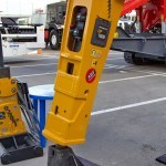 Гидромолот Indeco HP-1800 на выставке MiningWorld Russia 2013