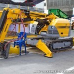 Самоходная машина робот Brokk 400 на выставке MiningWorld Russia 2013 - 6
