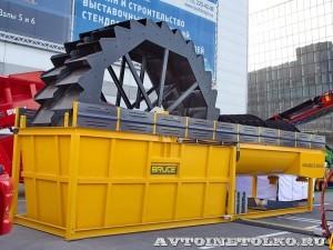Установка промывки иобезвоживания песка Bruce BWD-150 на выставке MiningWorld Russia 2013 - 1