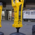 Гидромолот Atlas Copco MB-3600 на выставке MiningWorld Russia 2013