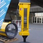 Гидромолот Atlas Copco MB-1700 на выставке MiningWorld Russia 2013