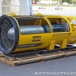 Вентилятор высокого давления Atlas Copco Swedvent на выставке MiningWorld Russia 2013
