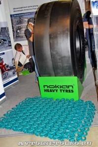 Шины Nokian для горнорудной техники на выставке MiningWorld Russia 2013 - 1