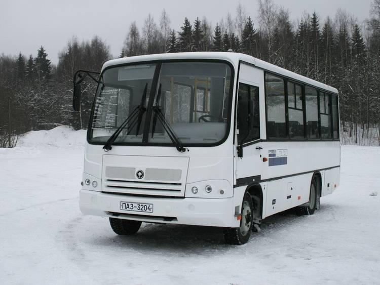 модернизированный автобус ПАЗ 320402
