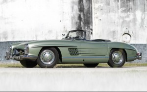 1957 Mercedes-Benz 300 SL Roadster chassis 198-042-7500592