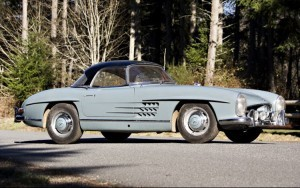 1964 Mercedes-Benz 300 SL Roadster chassis 198-042-10-003207