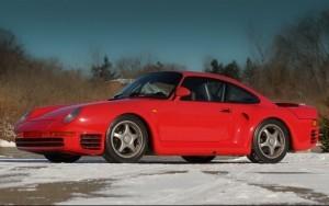 1988 Porsche 959 Sport chassis WP0ZZZ95ZJS905012