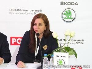 Открытие обновленного дилерского центр Skoda РОЛЬФ Магистральный в Москве - 8