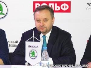 Открытие обновленного дилерского центр Skoda РОЛЬФ Магистральный в Москве - 9