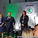 Открытие обновленного дилерского центр Skoda РОЛЬФ Магистральный в Москве - 12
