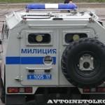 Полицейский автомобиль СПМ-2 (ГАЗ-233036) на выставке Интерполитех - 4