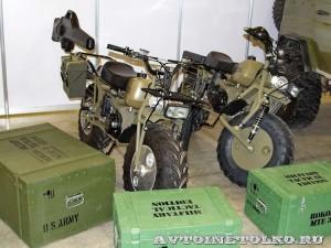 Полноприводный мотоцикл вездеход Rocon на выставке Вездеход-2013 в Крокус Экспо - 1
