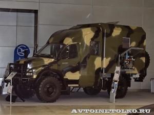 Вездеход Тайга-VIP от Чайка-Сервис на выставке Вездеход-2014 в Крокус Экспо - 21