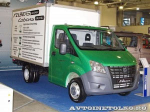 Фургон Газель NEXT на выставке Вездеход-2014 в Крокус Экспо - 1