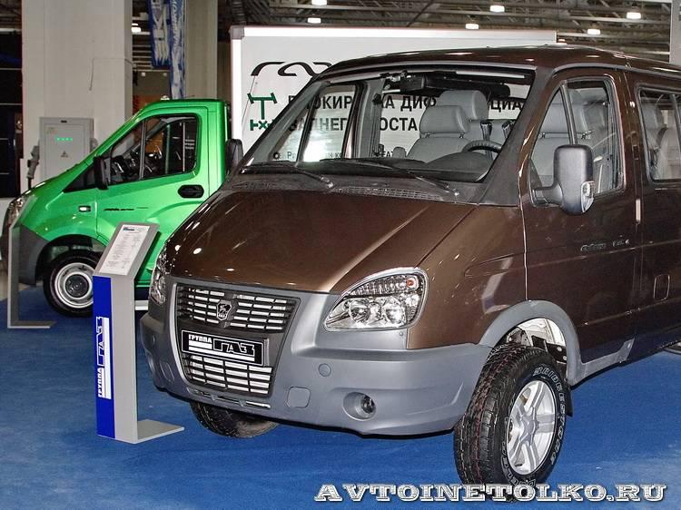 Группа ГАЗ на выставке Вездеход-2014 в Крокус Экспо