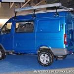 пассажирский Соболь Бизнес ГАЗ-22177 с подключаемым передним приводом на выставке Вездеход-2014 в Крокус Экспо - 2