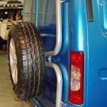 пассажирский Соболь Бизнес ГАЗ-22177 с подключаемым передним приводом на выставке Вездеход-2014 в Крокус Экспо - 5