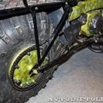 Полноприводный мотоцикл вездеход Тарусь на выставке Вездеход-2014 в Крокус Экспо - 9