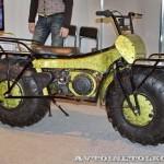 Полноприводный мотоцикл вездеход Тарусь на выставке Вездеход-2014 в Крокус Экспо - 2