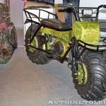 Полноприводный мотоцикл вездеход Тарусь на выставке Вездеход-2014 в Крокус Экспо - 3