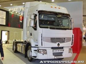 Магистральный тягач Renault Premium 4x2 на выставке COMTRANS-13 - 4