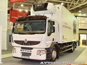 Фургон рефрижератор Schmitz Cargobull на шасси Renault Premium Distribution 6x2 на выставке COMTRANS-13 - 2