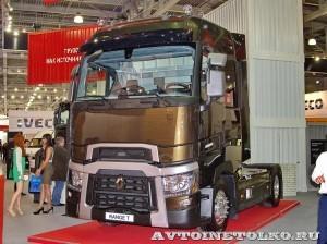 Магистральный тягач Renault серии T на выставке COMTRANS-13 - 7