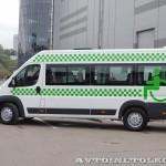 социальное такси Citroen Jumper 14 мест Промышленные Технологии на выставке Comtrans 2013 - 5
