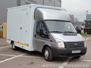 модульный фургон Ford Transit Промышленные Технологии на выставке Comtrans2013