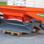 саморазгружаемая бетономешалка Ausa X-500RM на выставке Дорога-2013 - 1