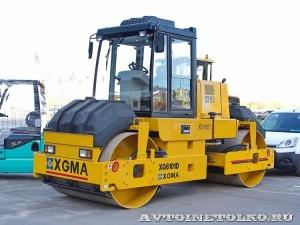 тандемный дорожный каток XGMA XG6101D на выставке Дорога-2013 - 1