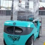 вилочный погрузчик Maximal FGL35T-M на выставке Дорога-2013 - 1