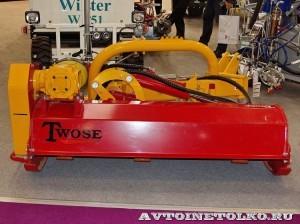 тракторная косилка-кусторез Twose на выставке Дорога-2013