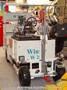 разметочная машина Winter WTE-251GTLR на выставке Дорога-2013 - 1