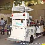 разметочная машина Winter WTE-251GTLR на выставке Дорога-2013 - 2