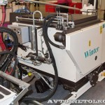 разметочная машина Winter WTE-251GTLR на выставке Дорога-2013 - 4