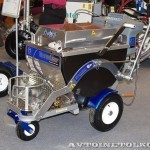 разметочная машина Graco Thermo Lazer на выставке Дорога-2013 -