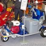 разметочная машина Graco Line Lazer 250 на выставке Дорога-2013