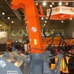 фрезерно-роторный снегоочиститель Шторм-2600 с трактором Terrion Навигатор-НМ на выставке Дорога-2013 - 3