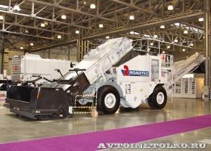 Перегружатель асфальтовой смеси Roadtec SB-2500ex Shuttle Buggy на выставке Дорога-2013 - 1
